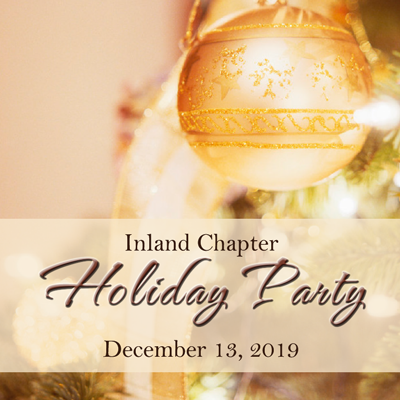 Inland Chapter Holiday Party
